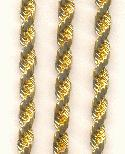 5mm Brass French Rope Chain