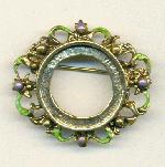 37/42mm AG Brooch w/ Setting for 24mm