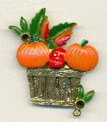 55/50mm AG Harvest Brooch