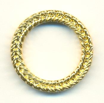 30mm gold plastic ring links jan s jewelry supplies