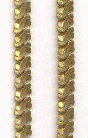 17.25'' x 9mm by 4mm Heavy Brass Chain