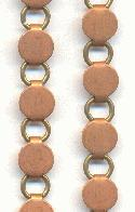 7mm Copper/Steel Link Chain