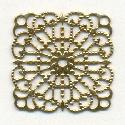 1 1/8'' Square Filigree 4 Loop