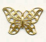 1 1/8'' by 1'' Filigree Butterfly