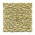 2 1/8'' by 2 1/8'' Square Filigree