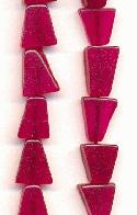 7-19mm Fuchsia Triangle S-Precious Beads