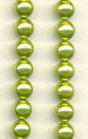 8mm Light Olive Pearls