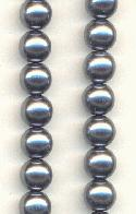 8mm Dark Gray Pearls