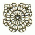 1 1/4'' Antique Gold Filigree