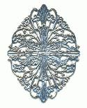 2 1/4'' by 1 1/2'' AS Filigree