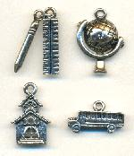 8mm-20mm School Charms
