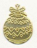 24mm Stamped Ornament Charms