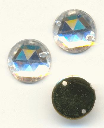 10mm Crystal Acrylic Sew On Stones Jan S Jewelry Supplies
