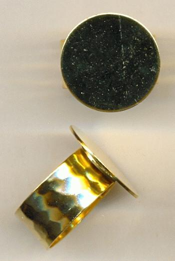 How To Solder A Ring Band To A Base