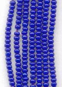 2mm Reconstructed Lapis Beads