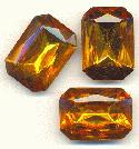 25x18mm Topaz Octagon RS