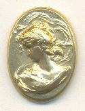 23x18mm Metal Cameo