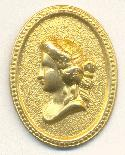 28x20mm Metal Cameo