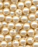 5mm Cream Colored Pearl Beads