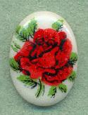 18x13mm Red Rose Stone