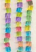 4.5 Mult-Color Trans. Triangle Beads