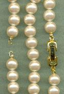 13'' Acrylic Pearl Necklace chain