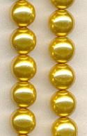 8mm Gold Pearls