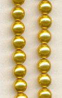 6mm Gold Pearls