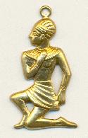 26x16mm Egyptian Man Charm