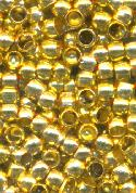 2mm Gold Crimp Beads