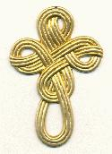 74x50mm Brass Cross Pendants