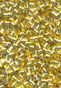 2mm Gold Crimp Bead Tube