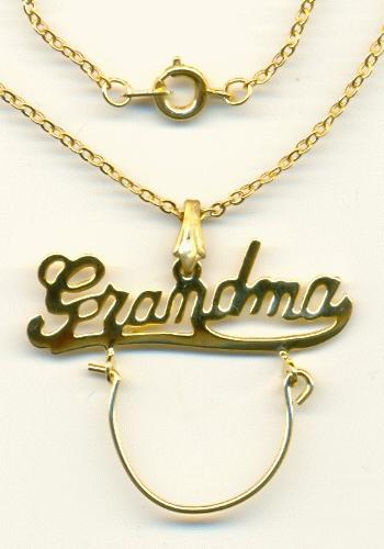 18 39 39 gp grandma charm necklace jan 39 s jewelry supplies for Grandmother jewelry you can add to