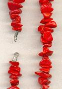Red Chip Beads