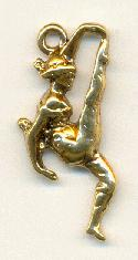 29x13mm GP Cast Dancer(?) Charm