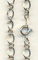 24'' SP Chain with Spring Clasp