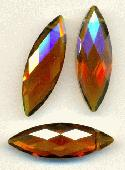30mm by 10mm Topaz Faceted Drops