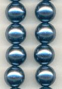 13'' 16mm Royal Blue Plastic Pearls