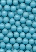 4.42mm Turquoise Plastic No Hole Beads