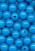 8mm Dark Aqua Acrylic Beads