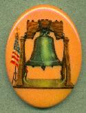 40x30mm Liberty Bell Picture Stone