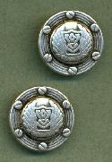 20mm Antique Silver Metal Buttons