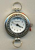 31x27mm Silver Plated Watch Base