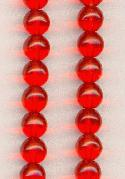 6mm Smooth Round Hyacinth Beads