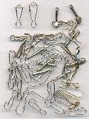 Mixed Lot of Silver Hooks