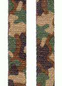1/2'' Camouflage Shoelace Ribbon