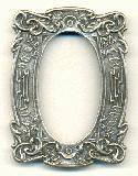 3 1/2'' x 2 1/2'' AS Floral Picture Frame