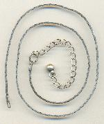 16-19'' AS Flat Necklace Chain