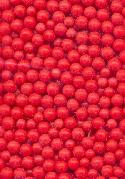 2-2.5mm Coral Glass No Hole Beads
