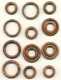 Mixed Lot of Wooden Rings